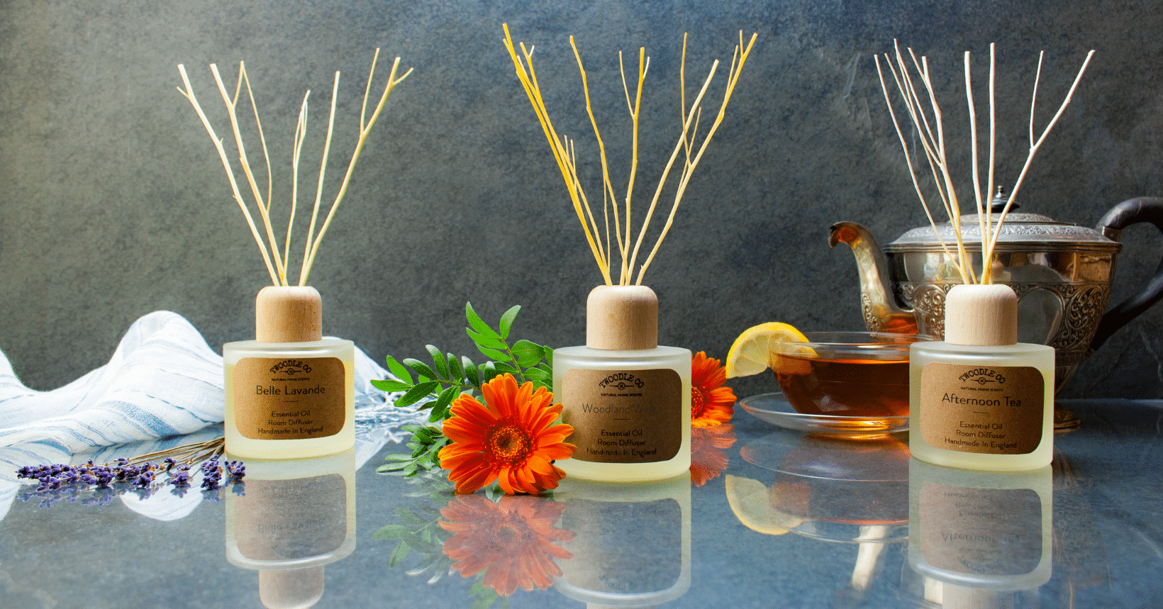 Natural Room Diffususers by Twoodle Co Natural Home Scents