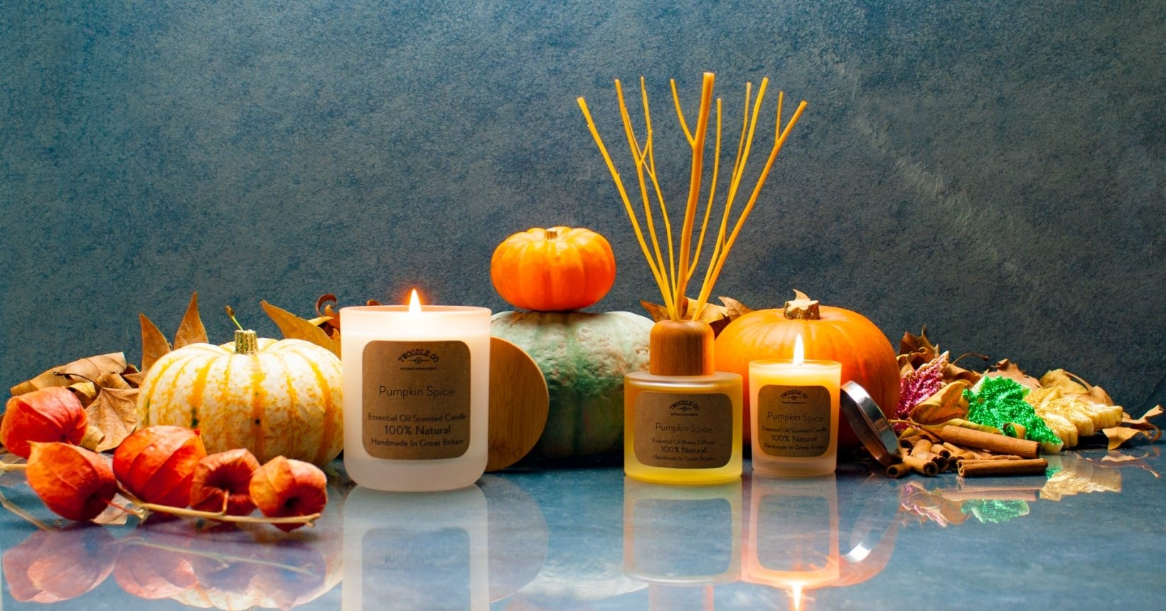 Autumn Collection Natural Home Scent Collection by Twoodle Co Natural Home Scents