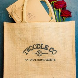 Biodegradable Eco Tote Bag by Twoodle Co Natural Home Scents