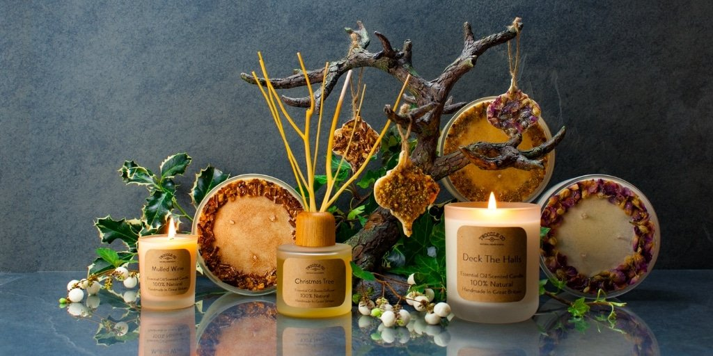 Christmas Natural Home Scent Collcetion by Twoodle Co