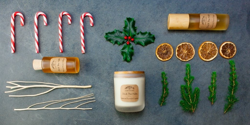 Deck The Halls Collection by Twoodle Co Natural Home Scents