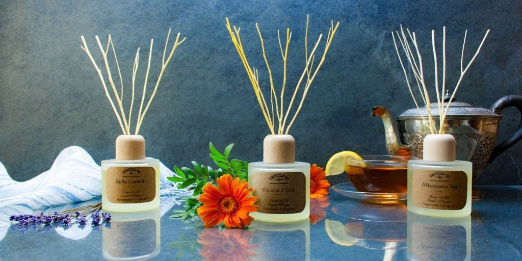 Essential Oil Room Diffuser Collection by Twoodle Co Natural Home Scents