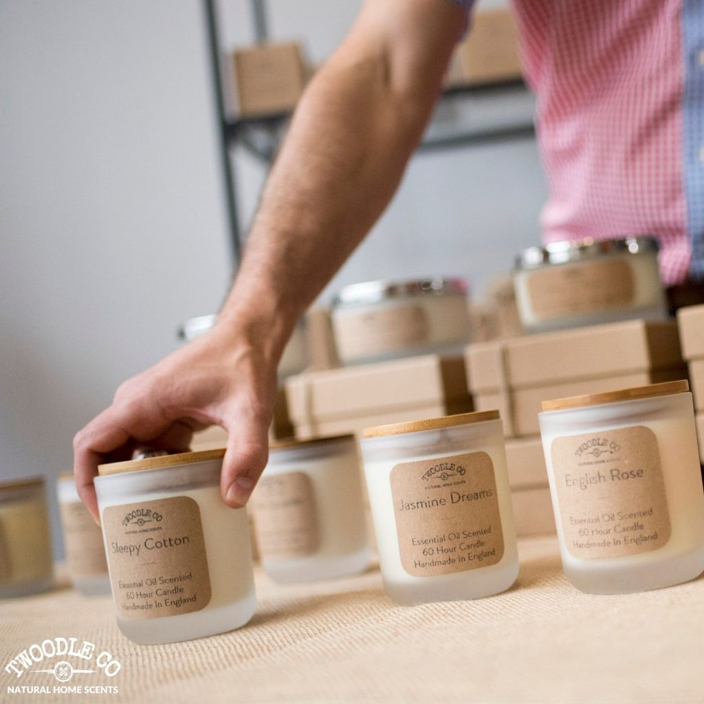 Tim Rundle Wood Founder of Twoodle Co Natural Home Scents