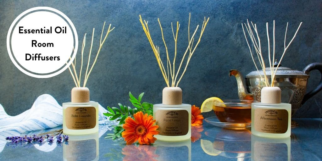 Essential Oil Room Diffusers handmade in London by Twoodle Co Natural Home Scents