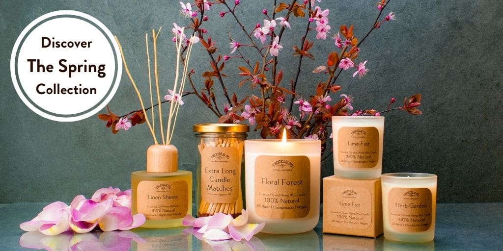Discover The Spring Collection Collection by Twoodle Co Natural Home Scents
