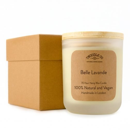 Twoodle Co Large Scented Candle Belle Lavande