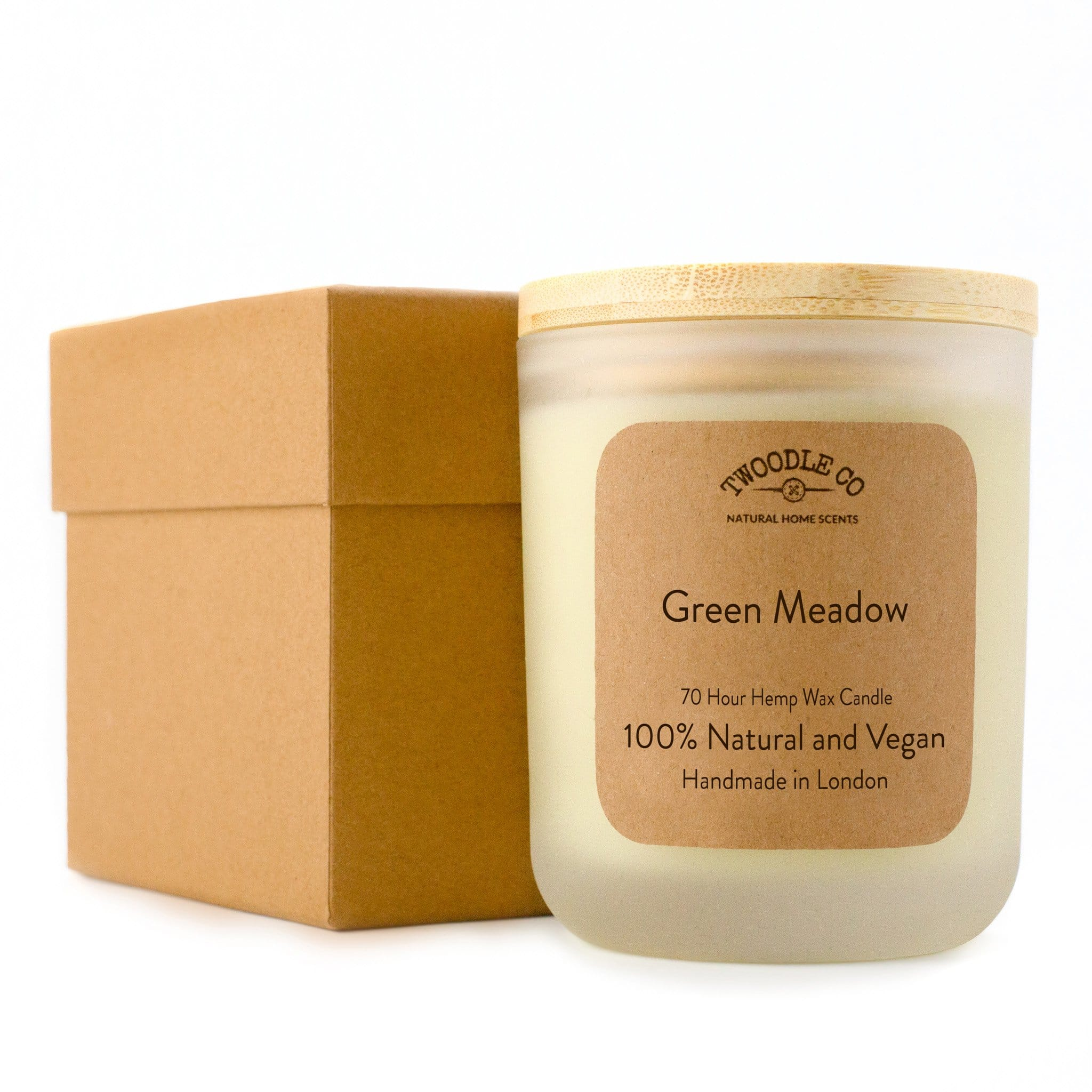 Twoodle Co Large Scented Candle Green Meadow