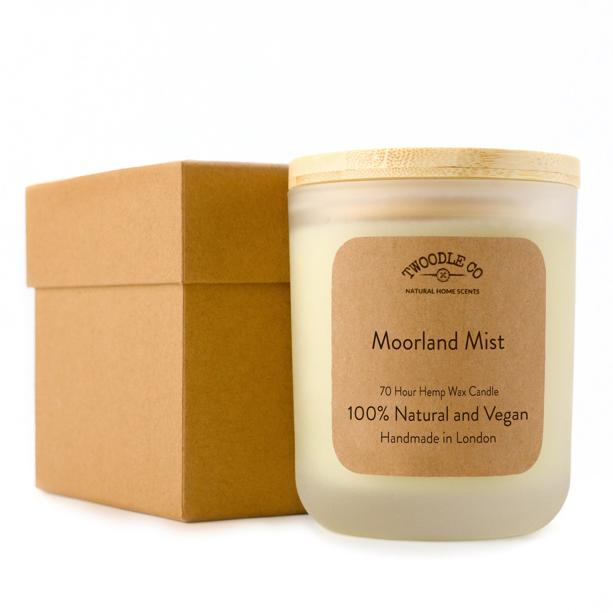 Twoodle Co Large Scented Candle Moorland Mist