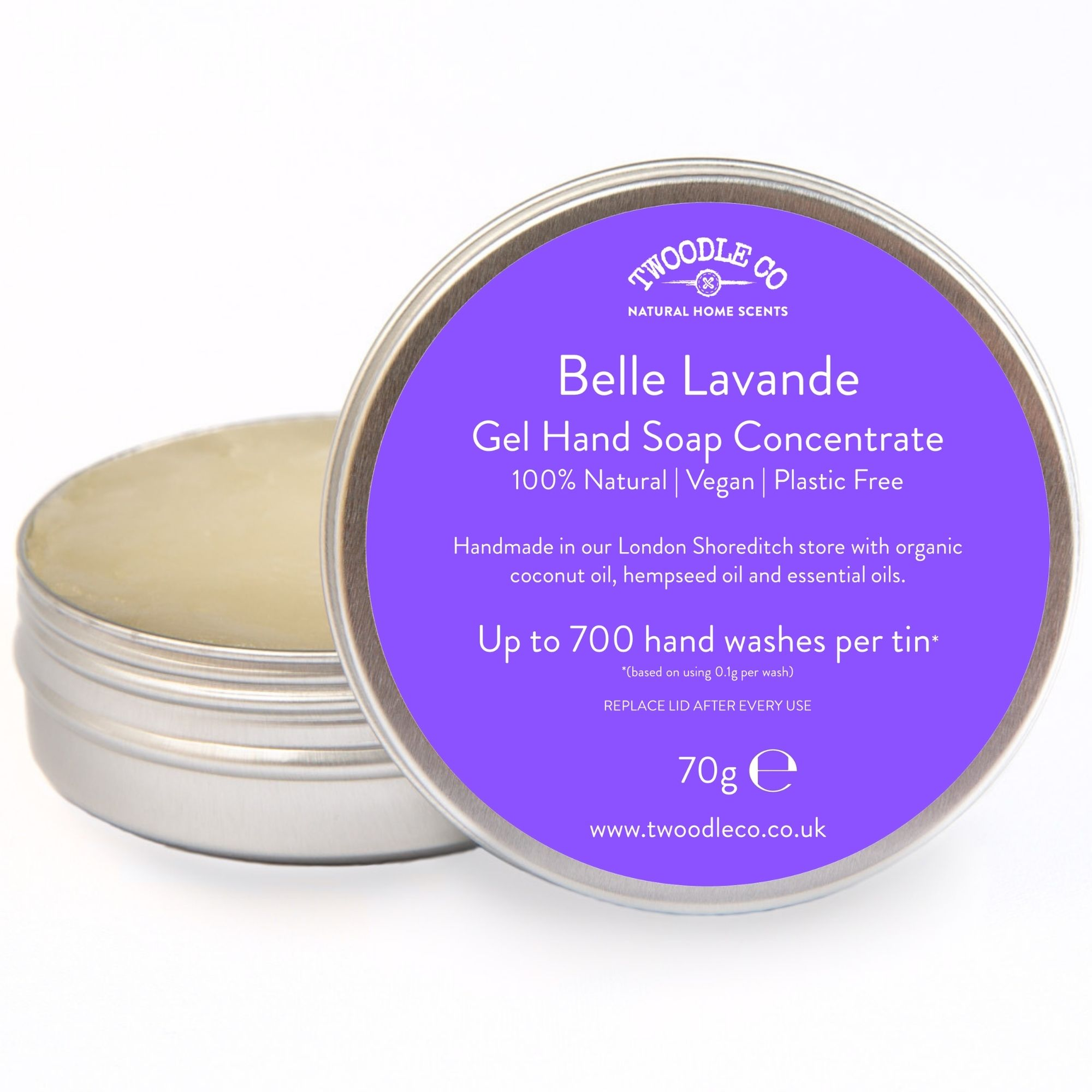 Belle Lavande Gel Hand Soap Concentrate