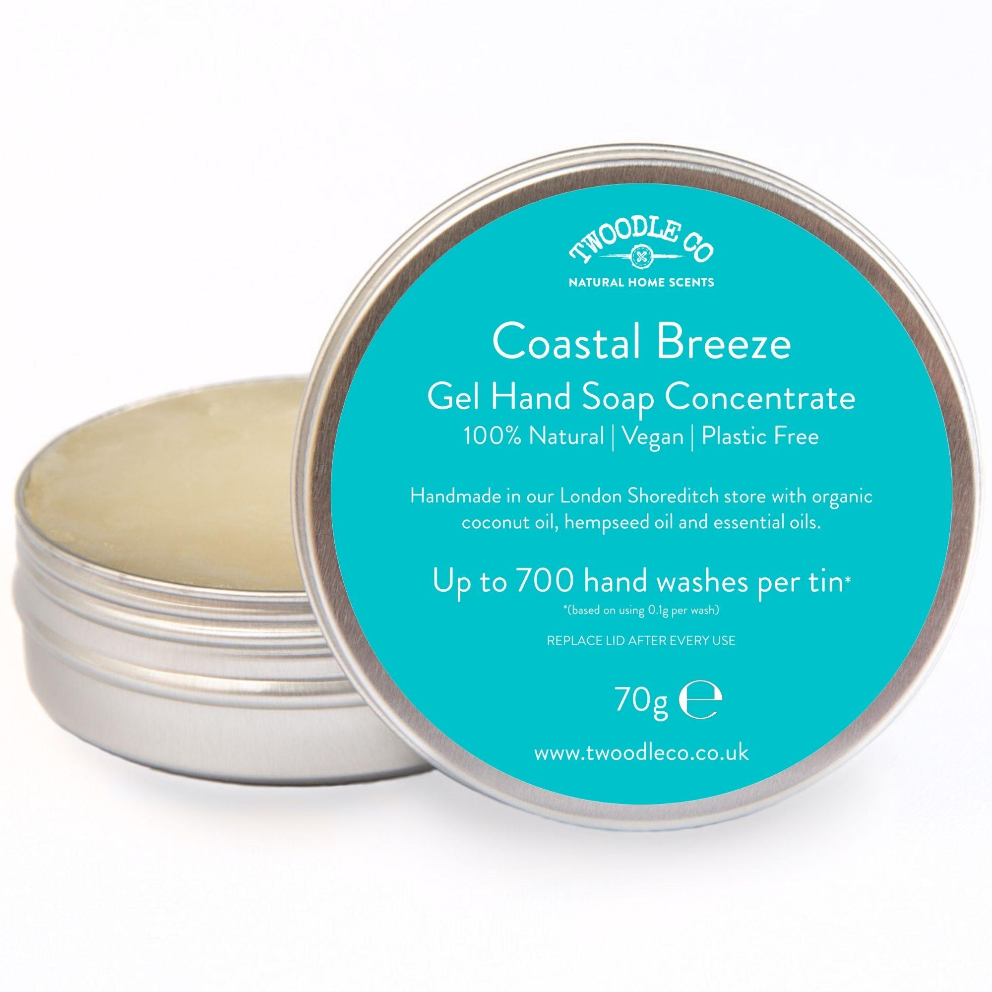 Coastal Breeze Gel Hand Soap Concentrate