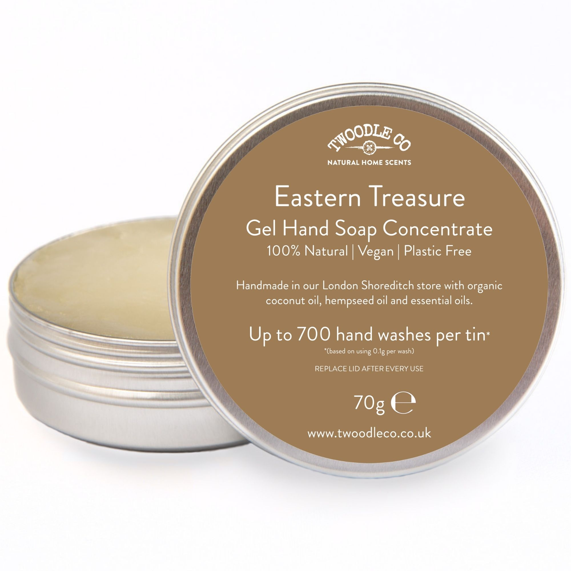 Eastern Treasure Gel Hand Soap Concentrate