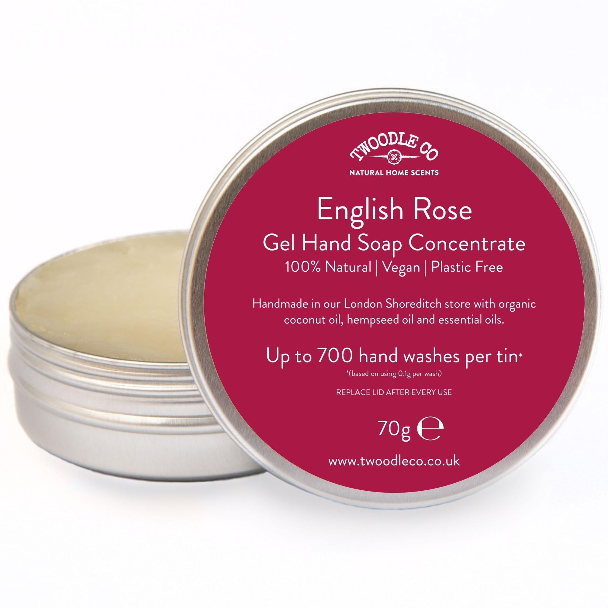 English Rose Gel Hand Soap Concentrate