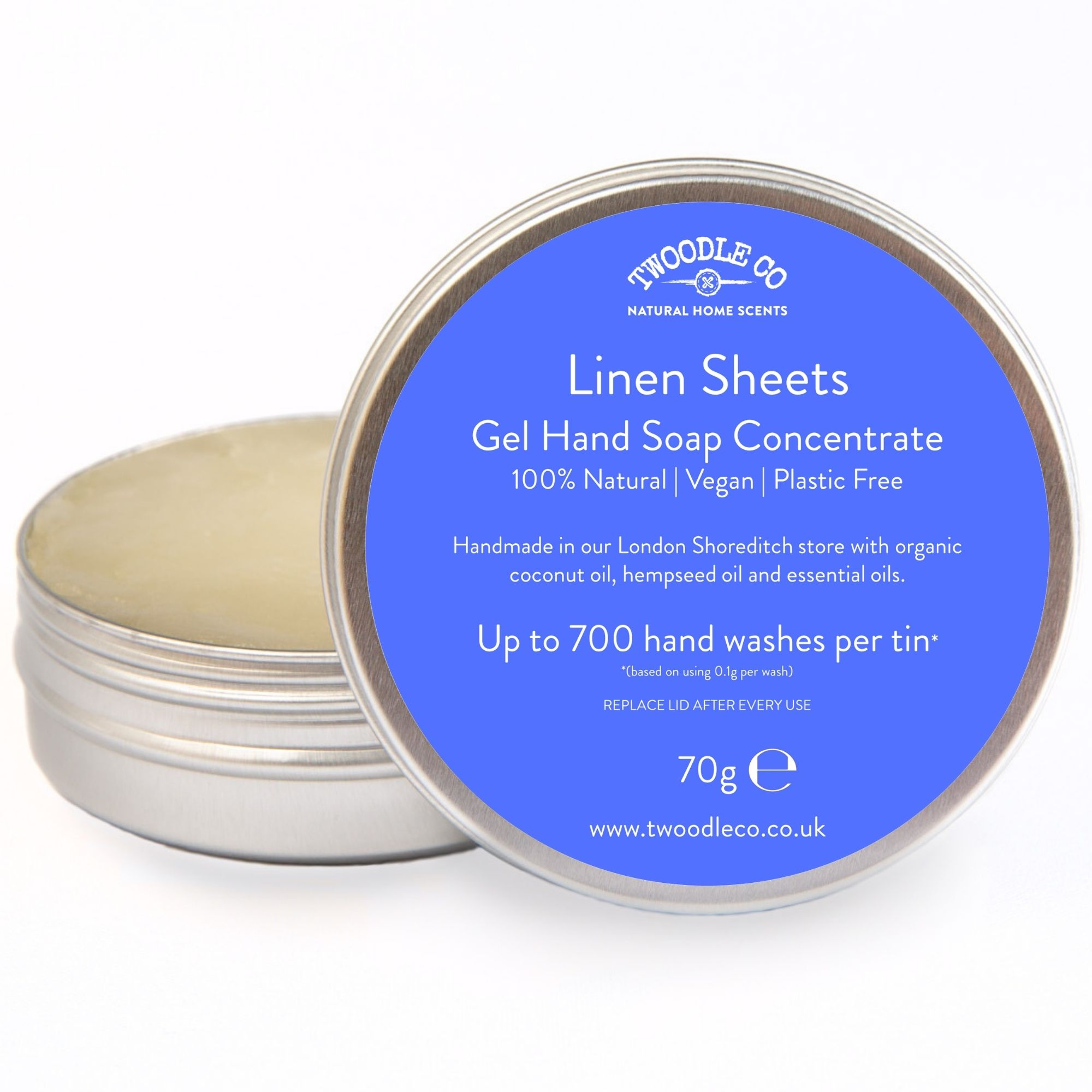Linen Sheets Gel Hand Soap Concentrate