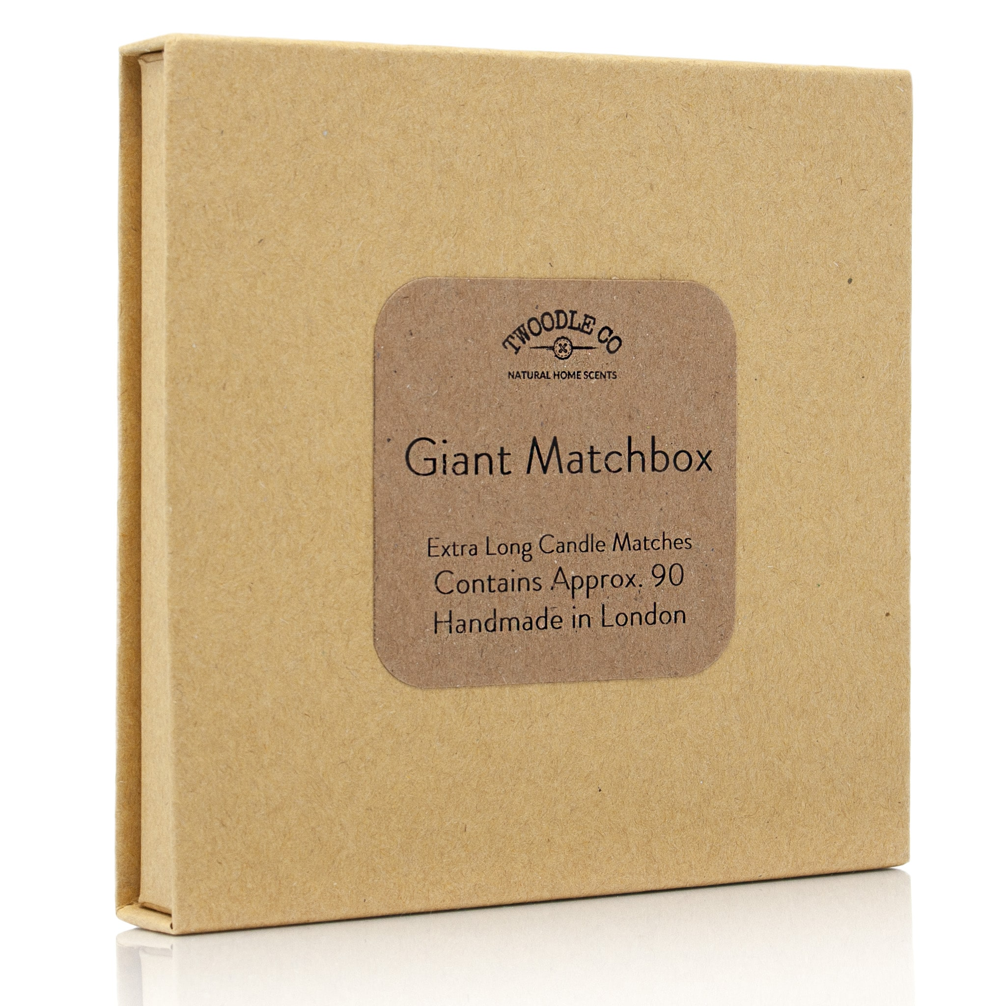 Giant match box extra long candle matches by Twoodle Co Natural Home Scents 11