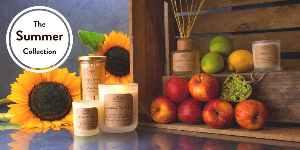 The Summer Collection by Twoodle Co Natural Home Scents