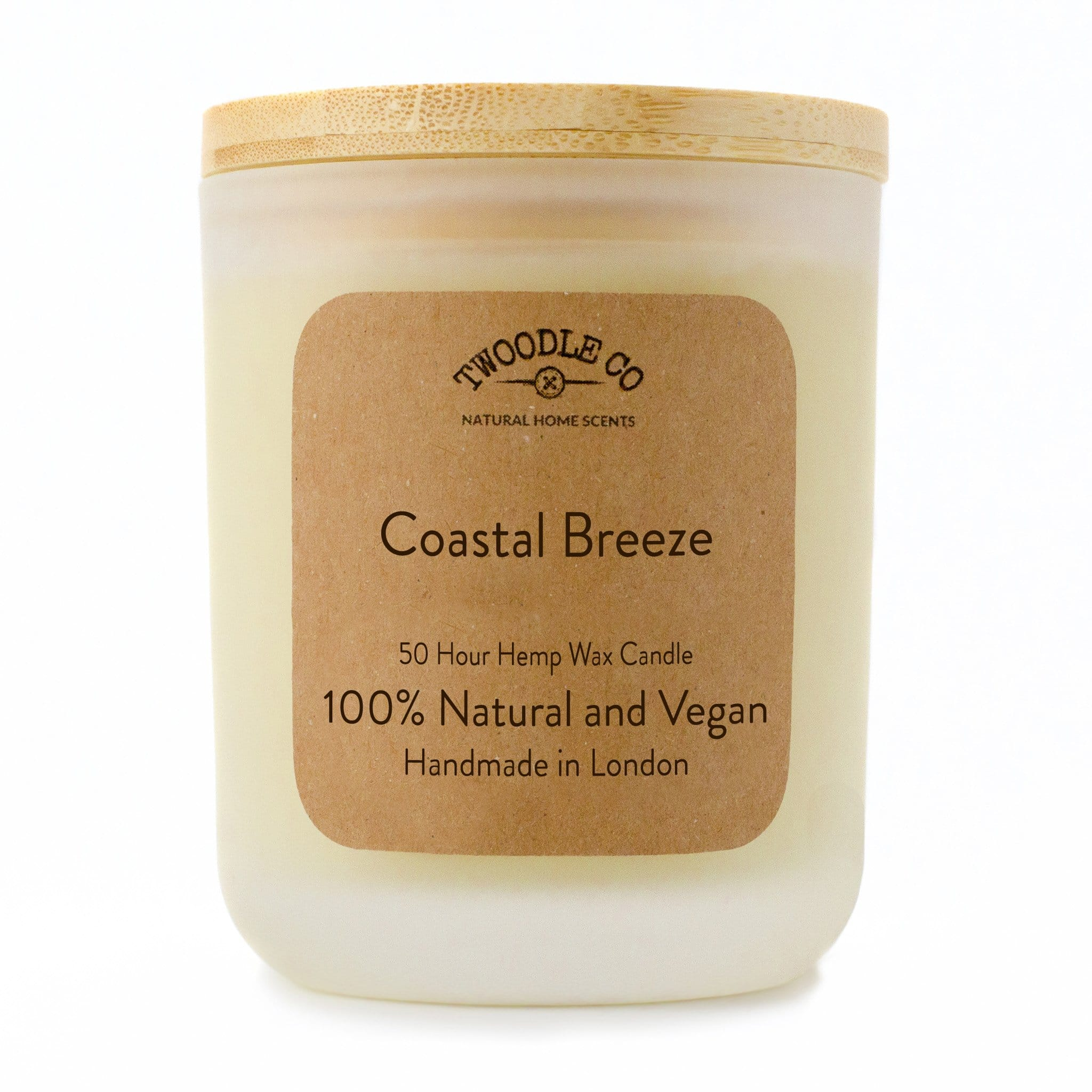 Twoodle Co Medium Scented Candle Coastal Breeze