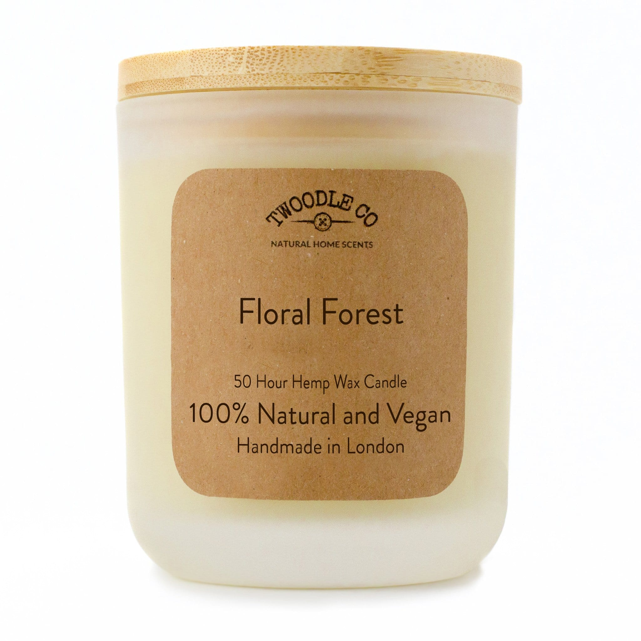 Twoodle Co Medium Scented Candle Floral Forest