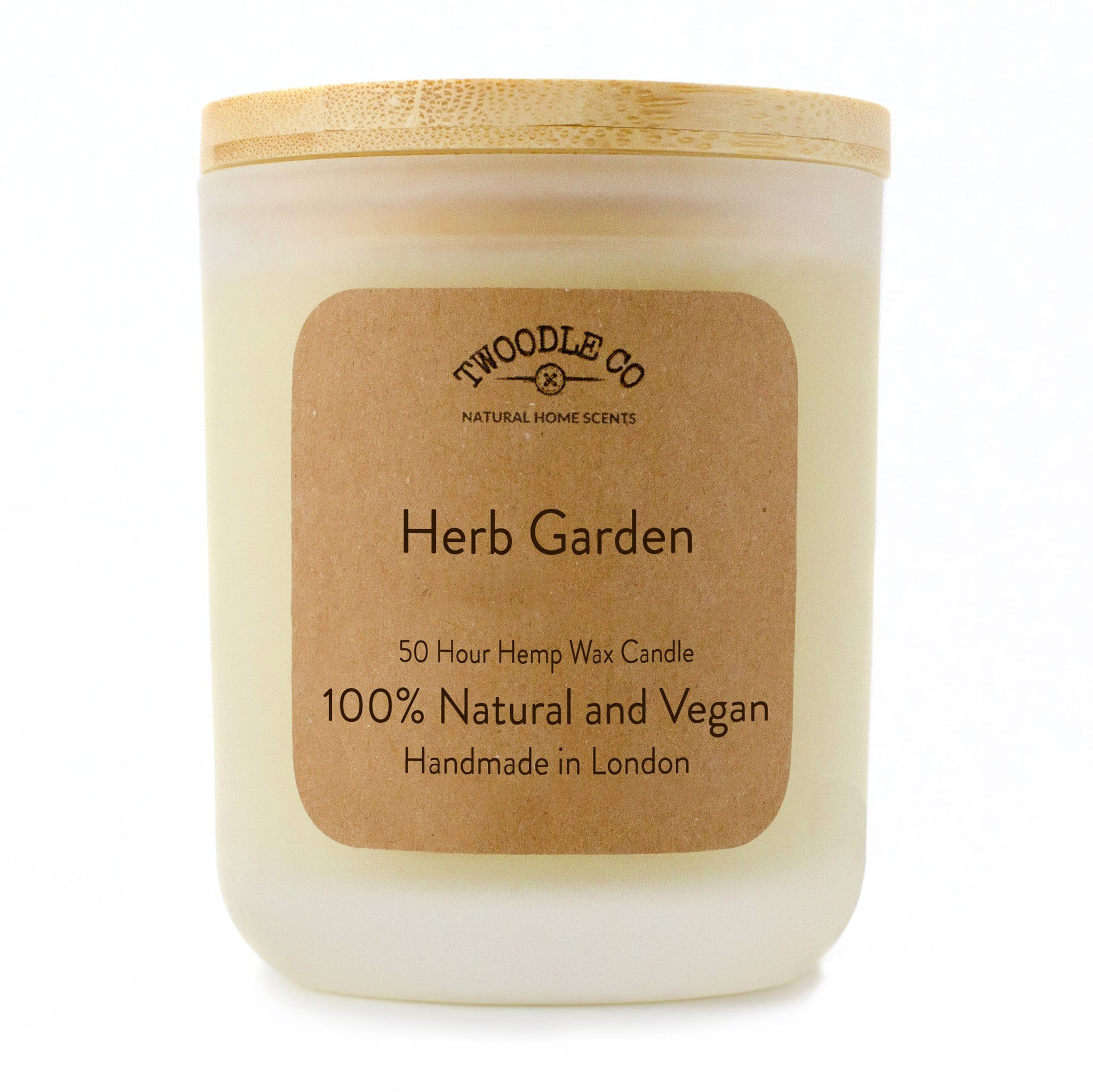 Twoodle Co Medium Scented Candle Herb Garden