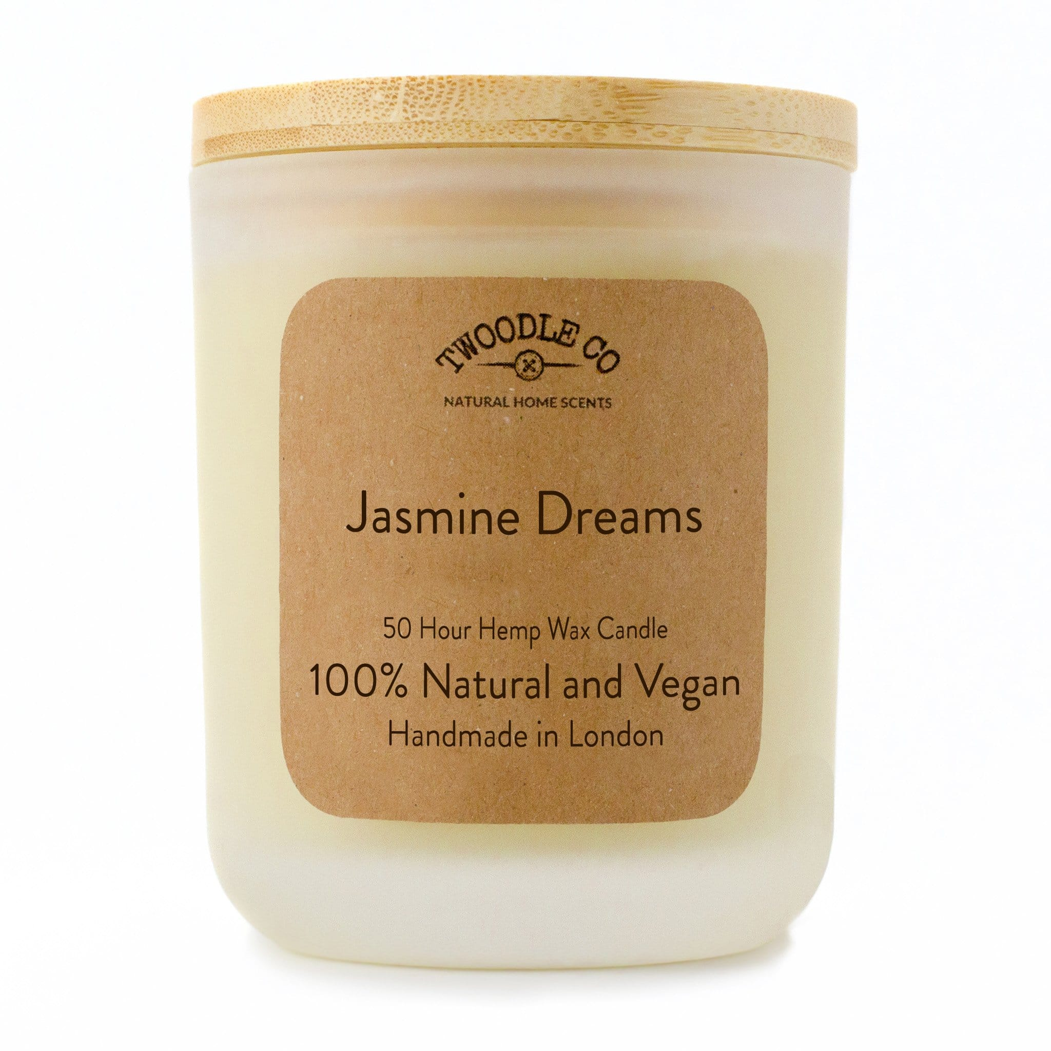 Twoodle Co Medium Scented Candle Jasmine Dreams