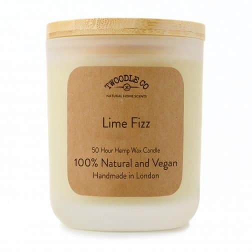Twoodle Co Medium Scented Candle Lime Fizz