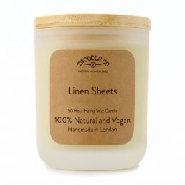 Twoodle Co Medium Scented Candle Linen Sheets