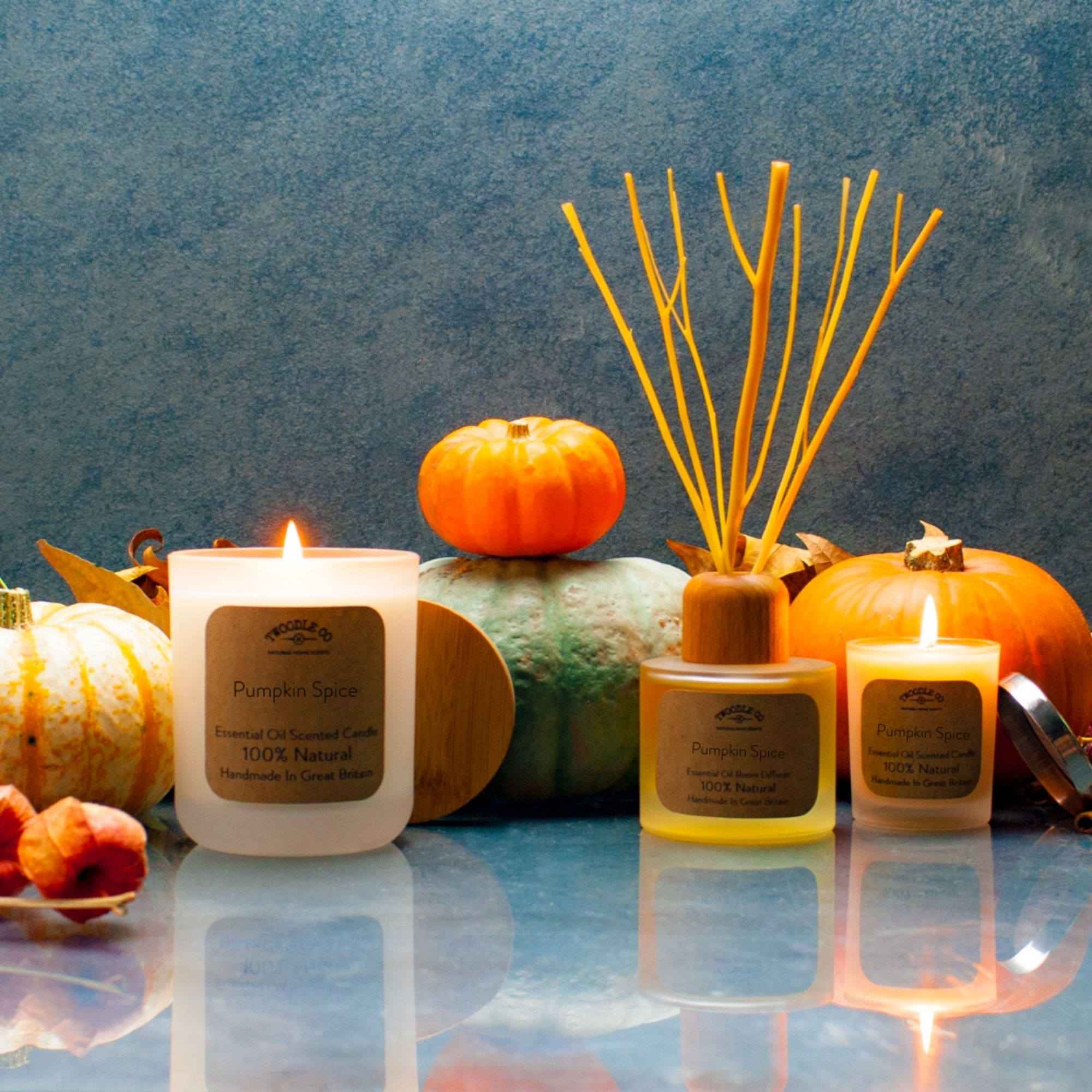 Pumpkin Spice Large Scented Candle 70 Hour