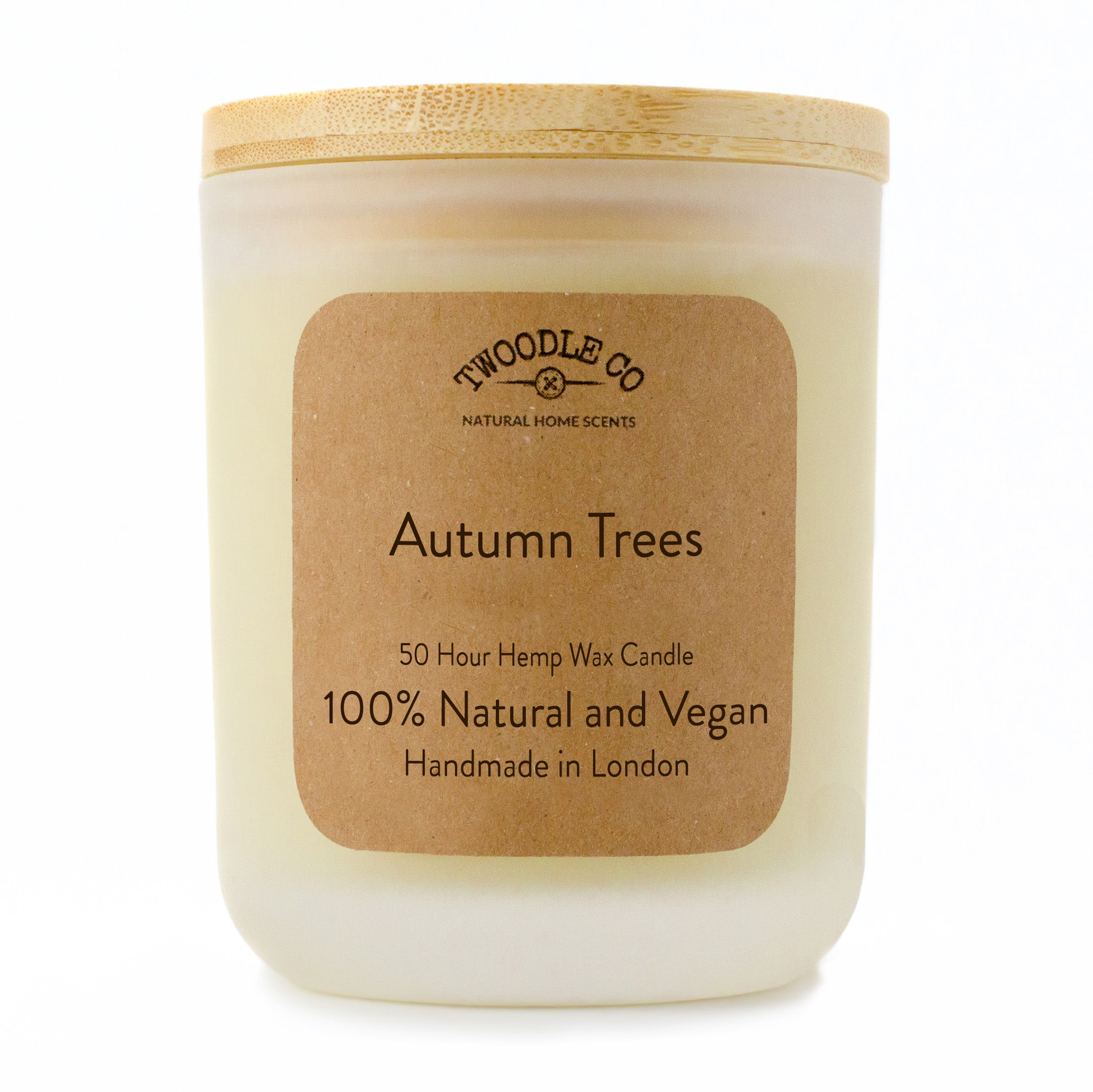 Twoodle Co Medium Scented Candle Autumn Trees