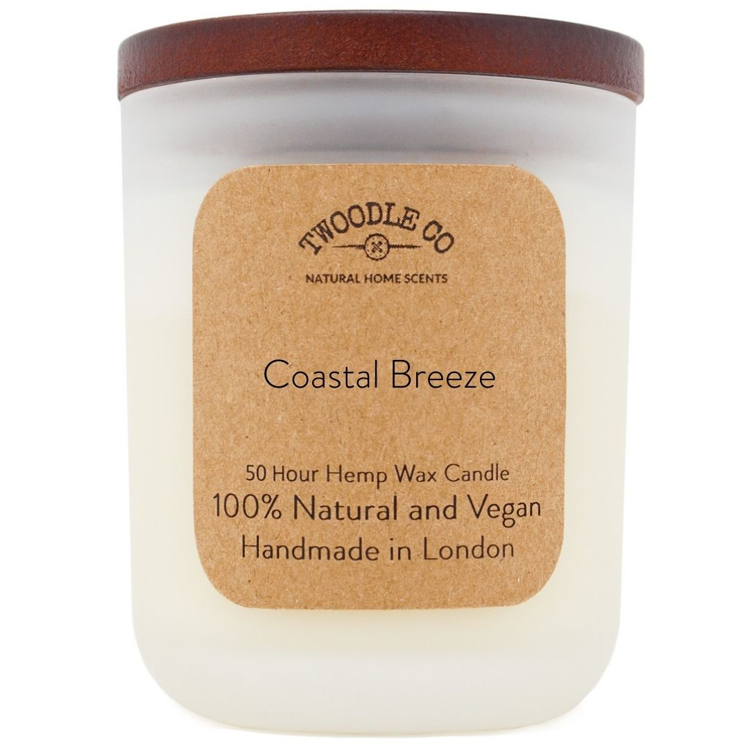Coastal Breeze Medium Scented Candle 50 Hour