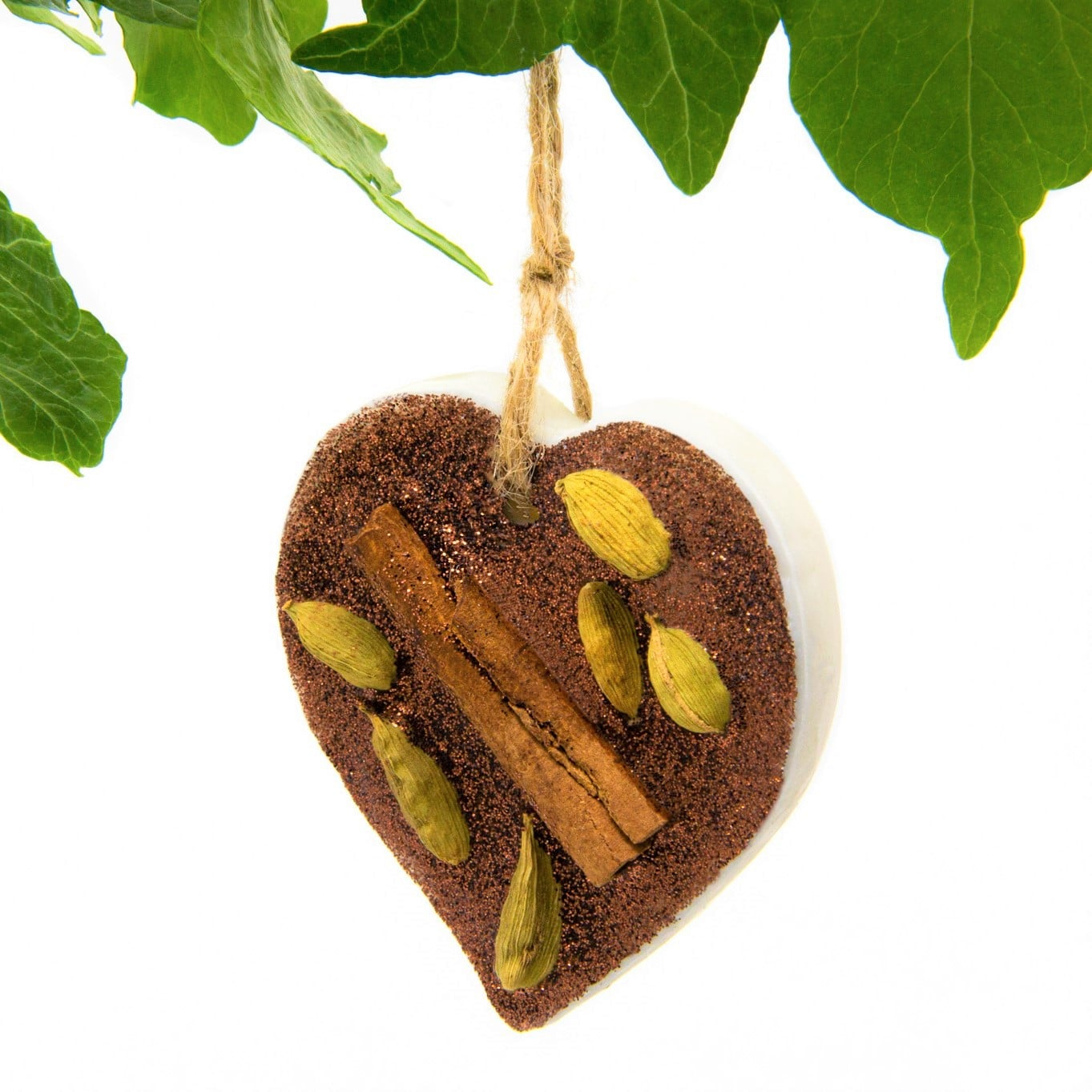 Gingerbread Scented Ornament by Twoodle Co Natural Home Scents