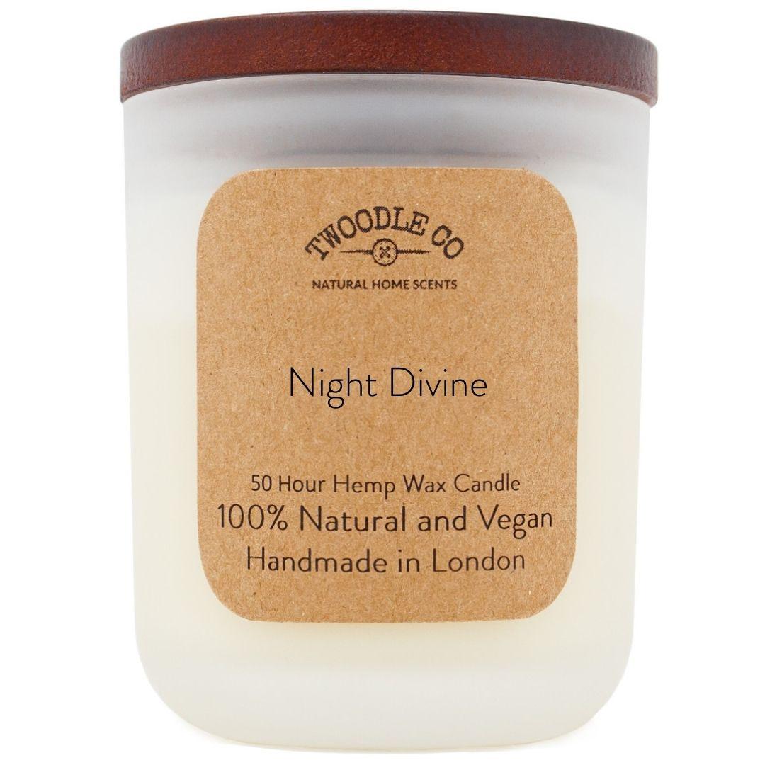 Night Divine Medium Scented Candle 50 Hour