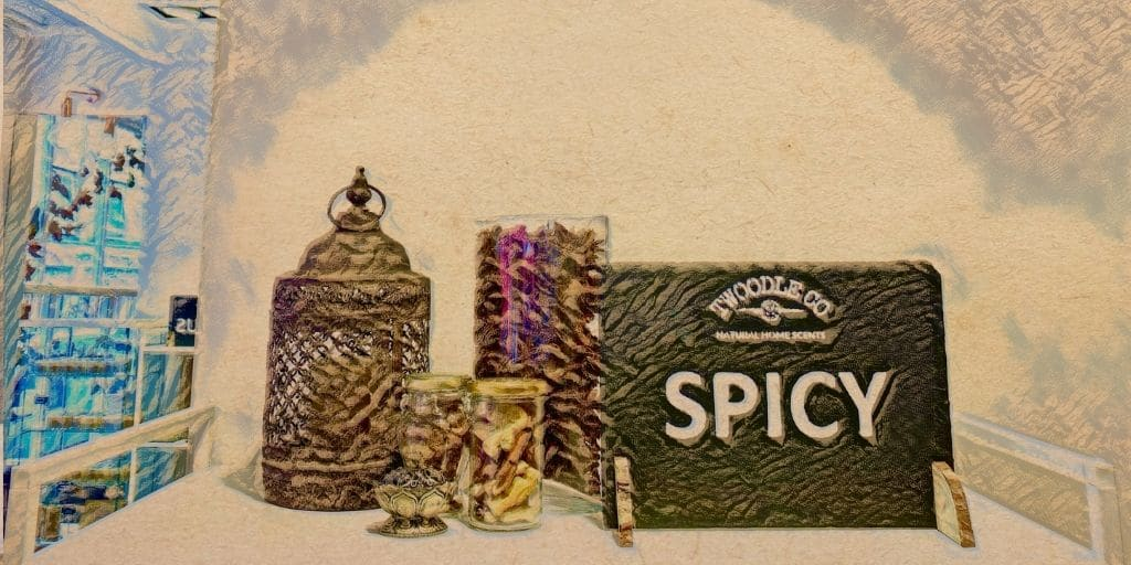 Shop by scent type spicy Twoodle Co Natural Home Scents