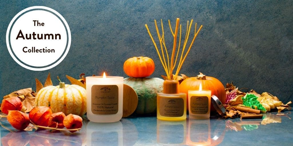 The Autumn Collection by Twoodle Co Natural Home scents 2020