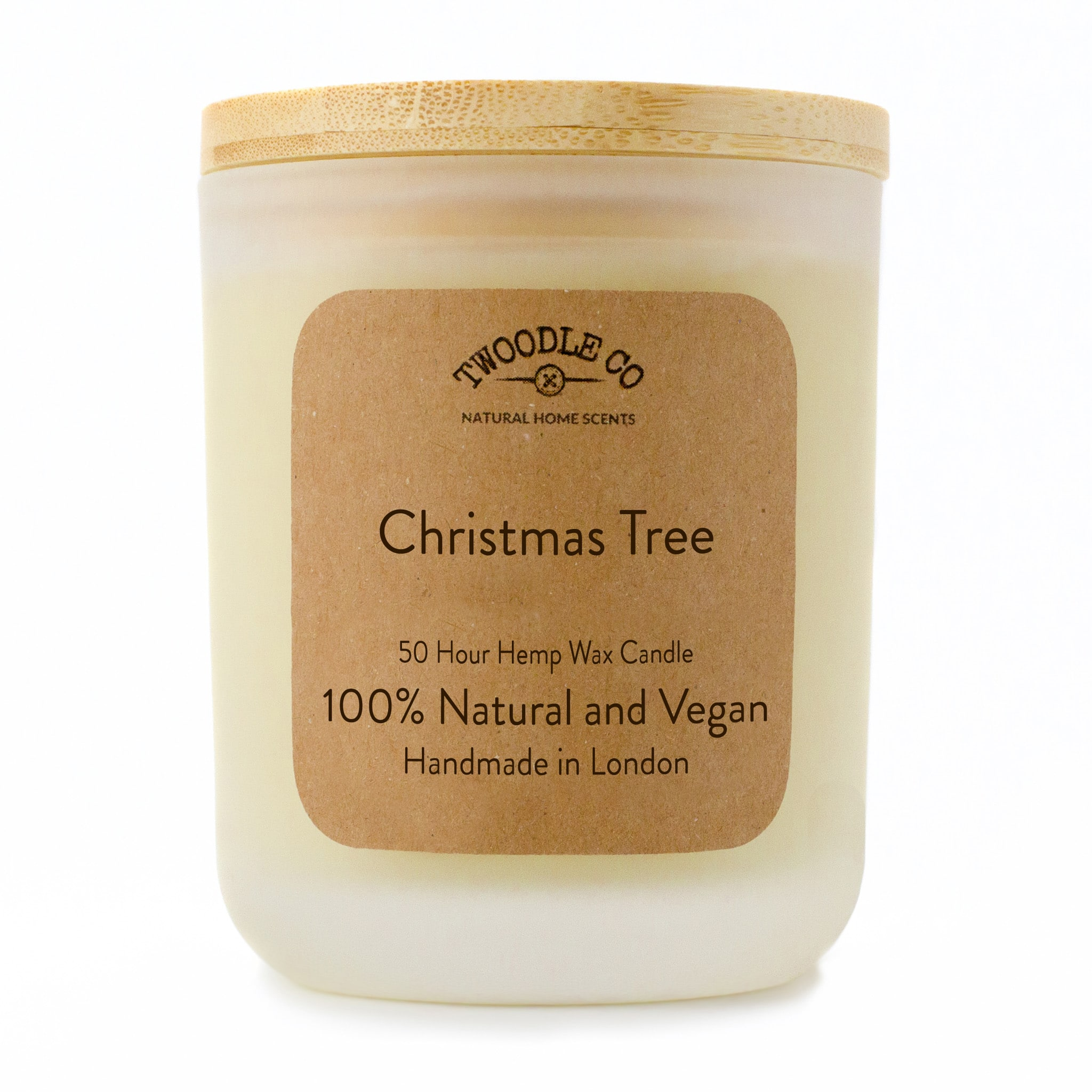 Twoodle Co Medium Scented Candle Christmas Tree