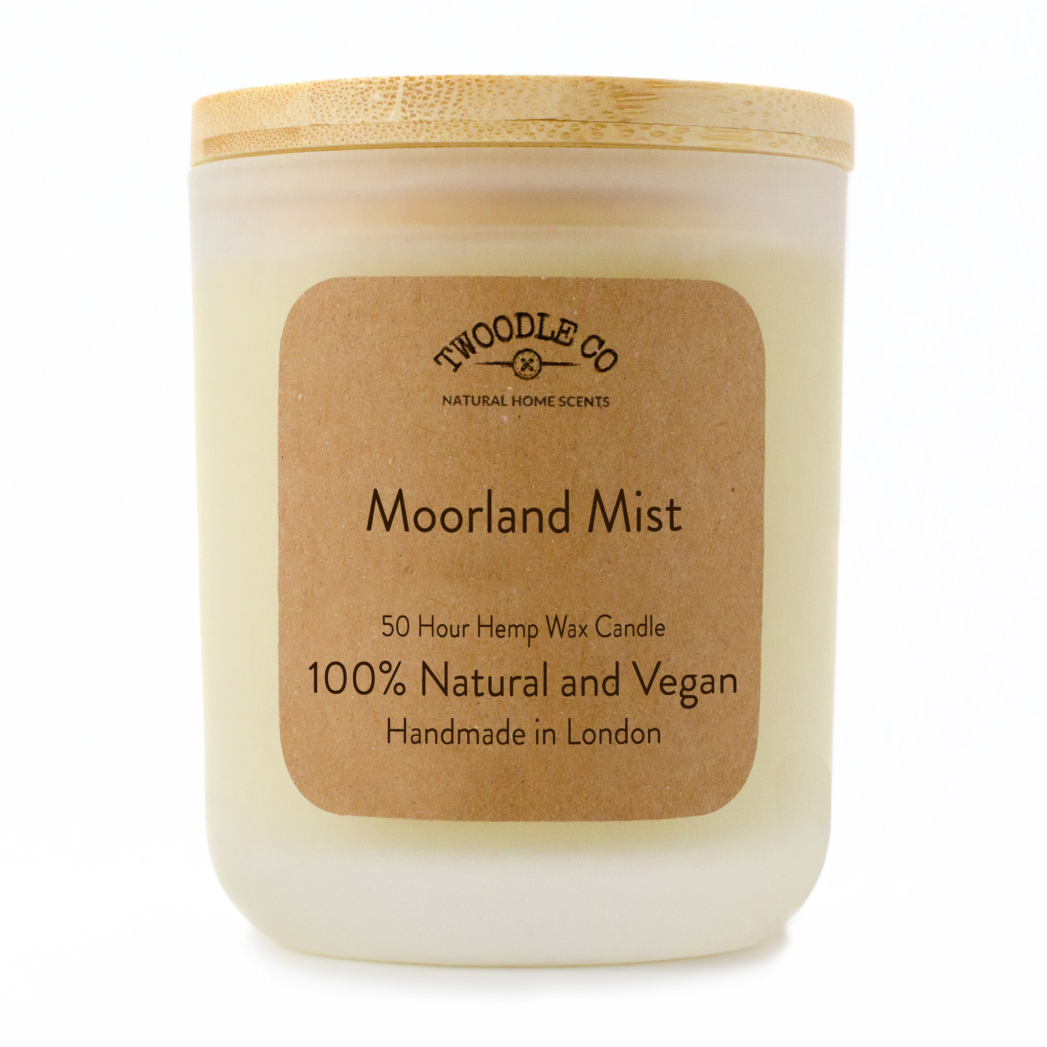 Twoodle Co Medium Scented Candle Moorland Mist