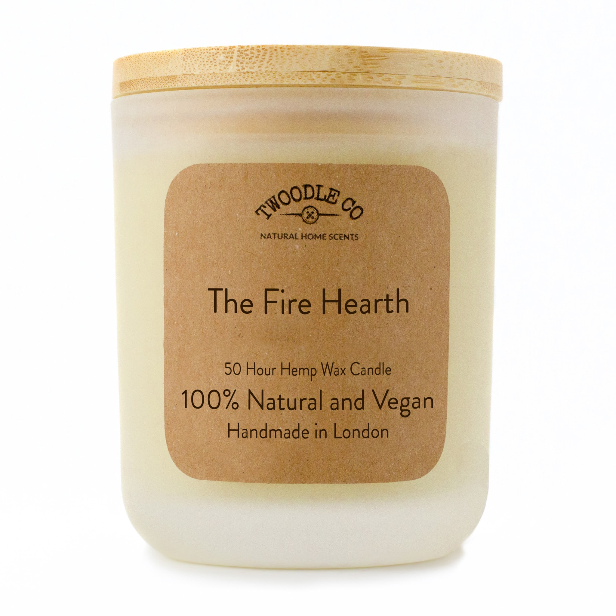 Twoodle Co Medium Scented Candle The Fire Hearth