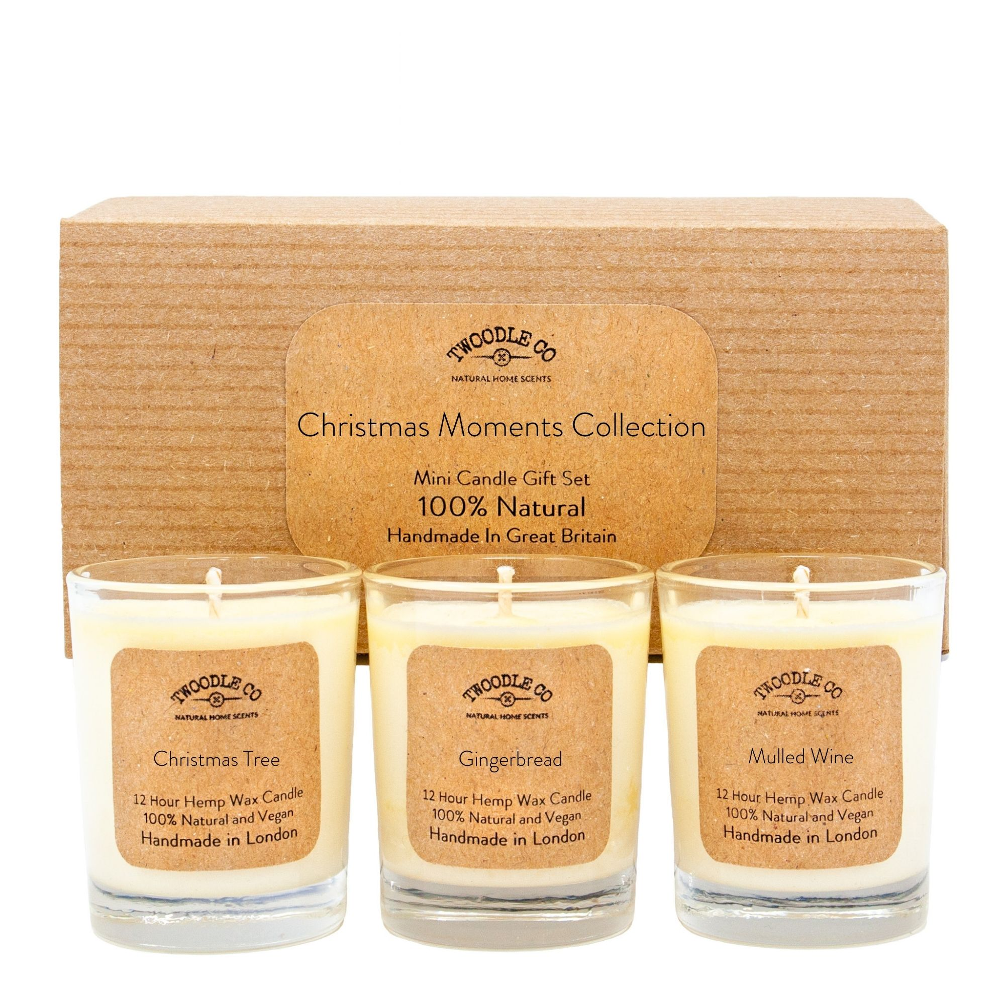 Christmas Moments Collection | Mini Scented Candle Set