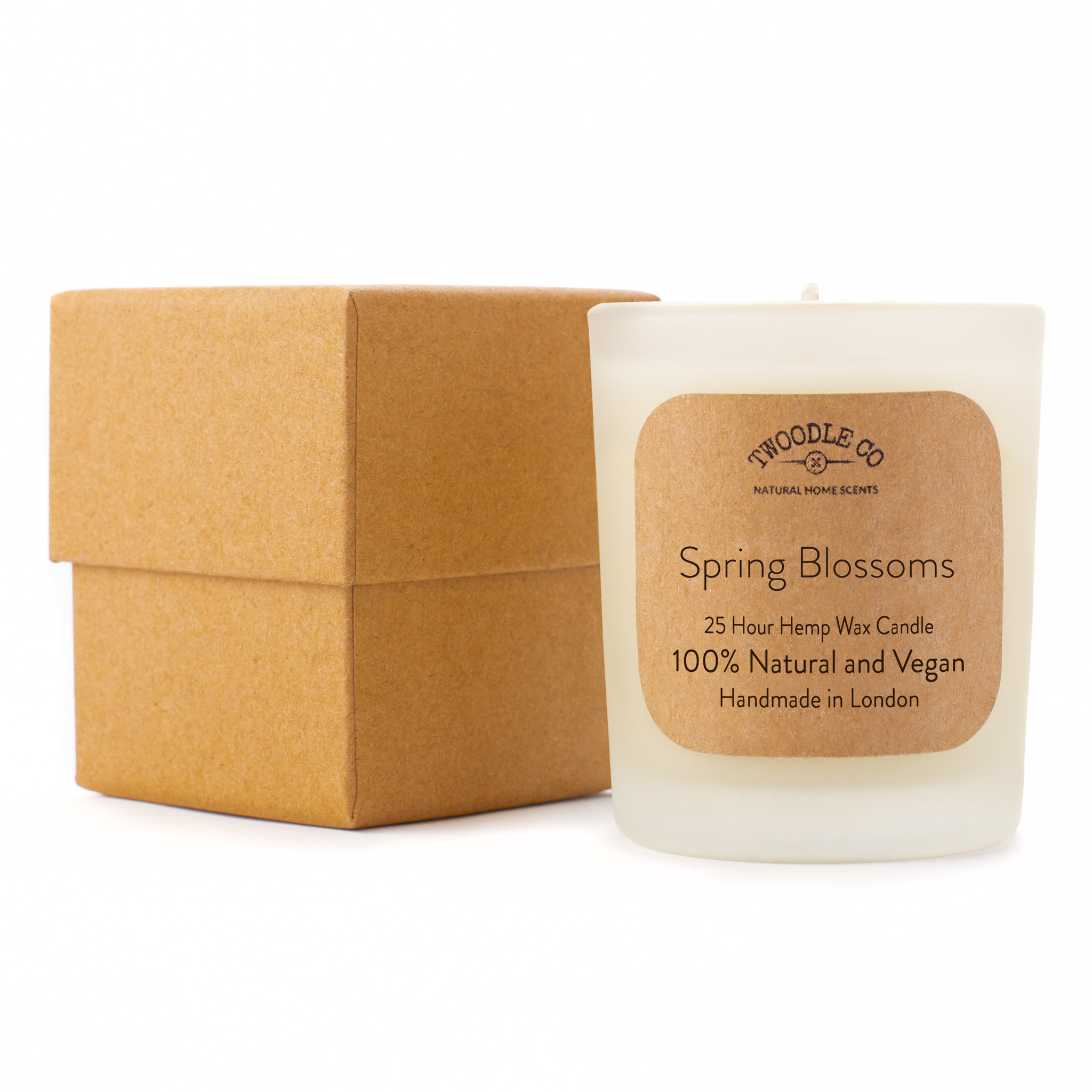 Spring Blossoms Small Scented Candle 25 Hour